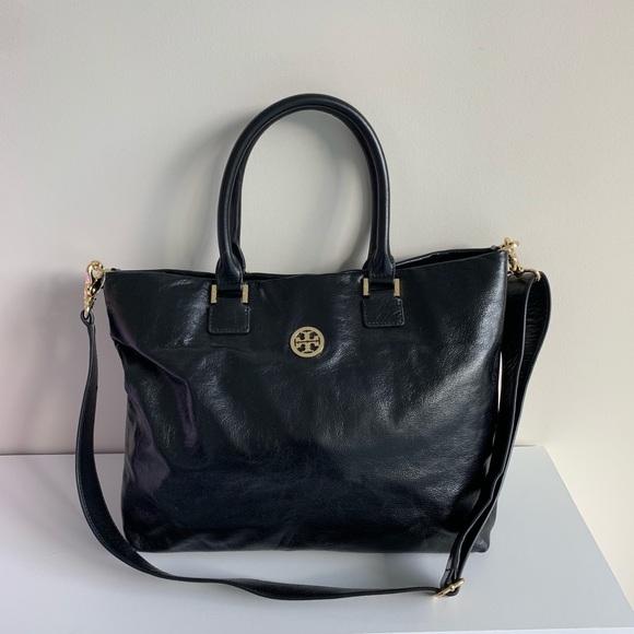 Tory Burch Handbags - Tory Burch Dena Distressed Leather Tote